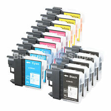 14 PACK LC65 Ink Set for Brother MFC-5890CN MFC-5895CW MFC-6490CW MFC-6890CDW