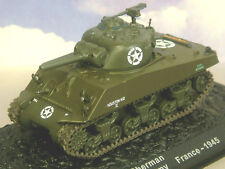 PARTWORK 1/72 DIECAST US M4A3 SHERMAN 756TH TANK BATTALION, 5TH ARMY FRANCE 1945