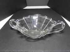 "Ohio Flint Glass Krys-Tol Colonial 1776 2 Hdl Nappy Clr Crystal 6 5/8"" D ca1905"
