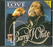 White, Barry The Unlimited Love Collection SBM Gold CD Audiophile Legends OOP