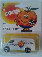 BLISTER CORGI FURGONETA NARANJITO MUNDIAL ESPAÑA 1982 WORLD CUP SPAIN FOOTBALL