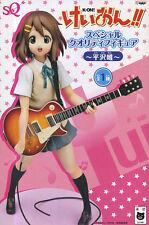 Yui Hirasawa SQ Figure Summer Uniform Guitar Anime K-ON! Keion BANPRESTO