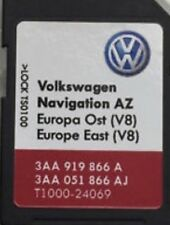 Pas UK! 2018 Volkswagen RN 315 Navigation Carte SD East Europe Sat Nav map