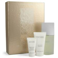 ISSEY MIYAKE 3 PCS FRAGRANCE SET FOR MEN: 4.2 EDT SP + 2.5 S/G + 1.7 A/S/B