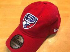 FC Dallas 96 MLS New Era 9Twenty Hat Cap Red  Adjustable One Size Fits All