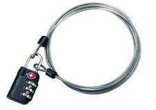NEW EAGLE CREEK 3 DIAL TSA APPROVED COMBINATION LOCK & CABLE
