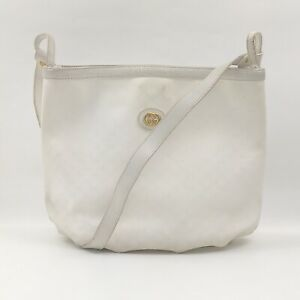Gucci Shoulder Bag Micro GG Whites PVC 1511751