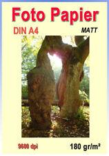 Fotopapier Matt DIN A4 - 180g/m²
