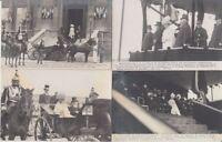 NETHERLANDS ROYALTY Wilhelmina Visit 1912 Paris 29 Vintage Postcards