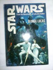 Star Wars Rare S31 Book Club HCDJ Second Edition George Lucas 1976 Del Rey Book