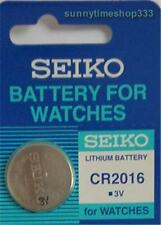 CR2016, Seiko Watch Battery, Made in Japan, Lithium, 3V