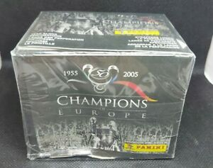 CHAMPIONS OF EUROPE 2005 SEALED BOX (50 PACKS) PANINI FOOTBALL SOCCER STICKERS