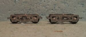 Walthers O Scale/Gauge 2-Rail PRR 4-Wheel Roller-Bearing Passenger Trucks