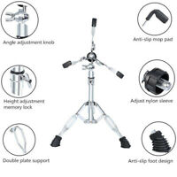 Full Metal Collapsible Snare Floor Drum Stand Rack for Snare Drum Adjustment