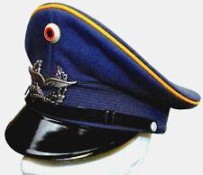 GENUINE GERMAN AIR FORCE LUFTWAFFE PEAKED CAP & BADGE