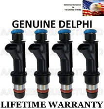 Genuine Delphi Set Of 4 Fuel Injectors for Saturn SC2 SL2 SW2 1.9L DOHC