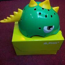 Alpha Plus Junior Dinosaur Helmet 48-54cm