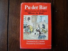 Pu der Bar Winnie the Pooh German Edition book 1968 , Milne, A.A.