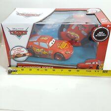 NEW Disney Pixar Cars RC Champion Series Lightning McQueen Remote Control Car