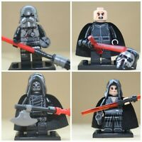 Star Wars Film Toys Rey & Kylo Ren & Knights Mini Figures Use With lego sets