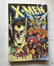 X-MEN ASGARDIAN WARS MARVEL TPB COMIC 1ST PRINT CLAREMONT ADAMS MIGNOLA 1988 !!