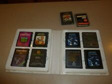 Atari 2600 CX2610 Lot 10 Games Warlords Mountain King Asteroids Crypts Chaos