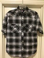 Authentic Dickies Plaid Button Up Shirt