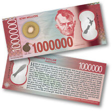 100 x New Zealand $1 Million Dollar Note Gospel Tract - Novelty Currency Money