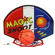 Mini Basketball Backboard Net Hoop Ball Goal Mount Wall Door Sporting for Kids