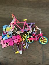 Mattel Barbie Stacie doll Bicycles Workout Equipment Stereo Camera Headphones