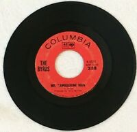 The Byrds   MR TAMBOURINE MAN & I KNEW I'D WANT YOU on COLUMBIA Records 45 rpm