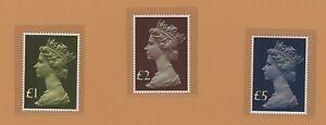 Great Britain QEII MNH stamps Michel #732/734 portrait by Czeslaw Slania
