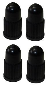Pack of 4 Presta Dust Caps Presta High Quality Black Plastic French