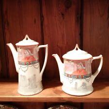 Royal Doulton Teapot + Coffee Pot - Jackdaw of Rheims - VERY RARE - Series E3305