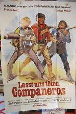 LASST UNS TÖTEN, COMPANEROS Poster A0 XXL Plakat SERGIO CORBUCCI Franco Nero ´70