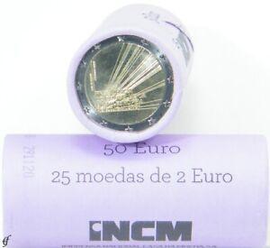 Rolle 2 Euro Gedenkmünzen Portugal 2021 EU-Ratspräsidentschaft