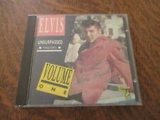 cd album ELVIS PRESLEY unsurpassed masters volume one