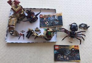 LEGO  * LORD OF THE RINGS BUNDLE * 9470 SHELOB * 79017 5 ARMIES * 79012 MIRKWOOD