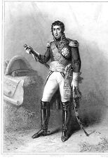 MILITARIAT GRAVURE MARECHAL DE FRANCE / André Masséna 1758-1817