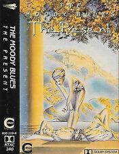The Moody Blues The Present CASSETTE ALBUM Symphonic Rock, Pop Rock UK KTXC 140