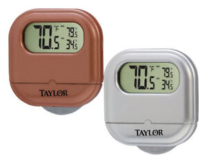 Taylor  1 in. Indoor and Outdoor  Digital Thermometer