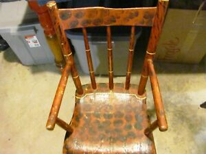 Antique Maine Country Child's Highchair c. 1850