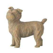 "Willow Tree Love My Dog Small 1.5"" Standing Pet Sentiment Figure Ornament Gift"