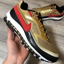 Air max 97 leather high trainers Nike Gold size 43 EU in
