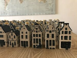Lot Of 10 KLM Miniature Delft Houses Complete Your Collection #1-80 Available