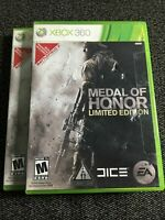 MEDAL OF HONOR LIMITED EDITION - XBOX 360 - WITH MANUAL - FREE S/H - (N)