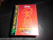 Red Zone (Donruss) NFL Football Card Game - Starter Deck 80 Cards Factory Sealed