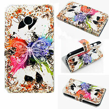 Flip Wallet Leather Phone Case Cover Stand Holster Pouch For Motorola Moto E