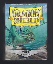 Dragon Shield Matte Mint (100) Shield Sleeves Free Shipping
