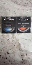52mm Digital Lens Filter - K&F Concept Gradual Blue and Orange.